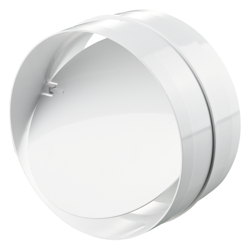 Соединитель с обратным клапаном для круглых каналов d200