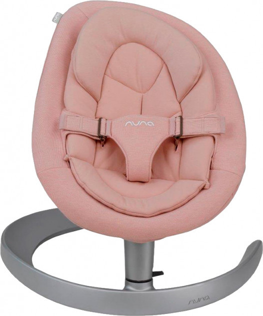 Шезлонг-качалка Nuna Leaf Blush , цвет розовый (SE10300BLUGL)