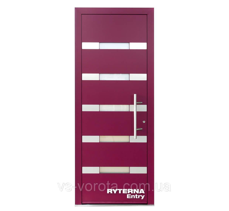 Входные уличные двери для дома Ryterna RD80 (Литва) - Дизайн 223