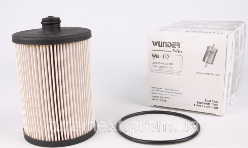 Фильтр топливный VW LT 2.8 TDI (116kw) WUNDER WB-117
