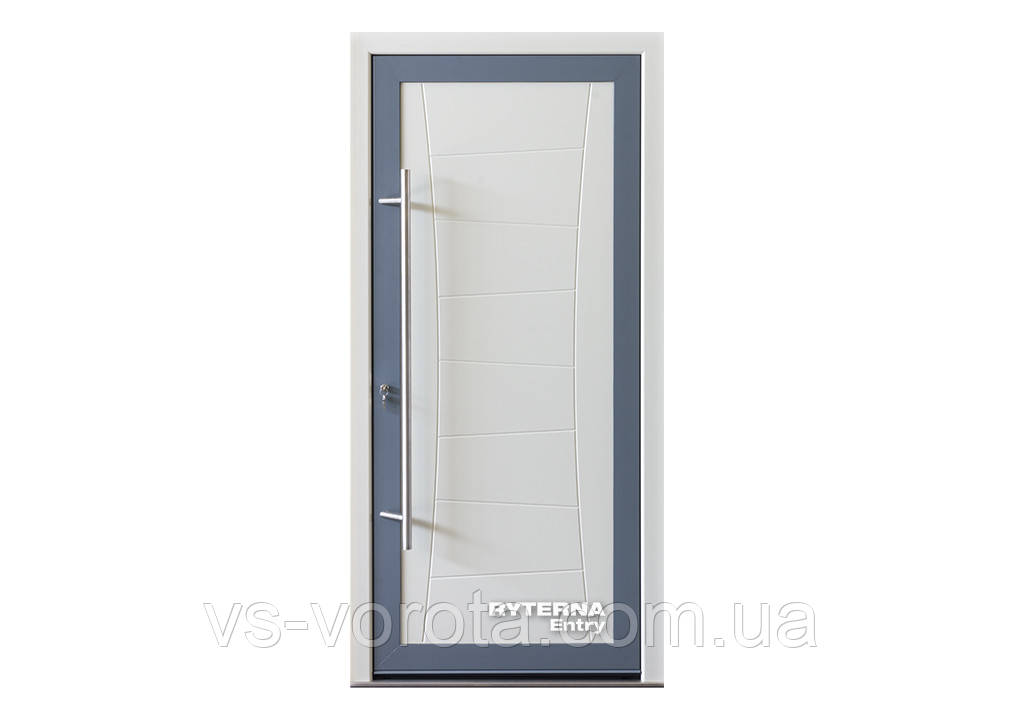 Входные уличные двери для дома Ryterna RD80 (Литва) - Дизайн 216