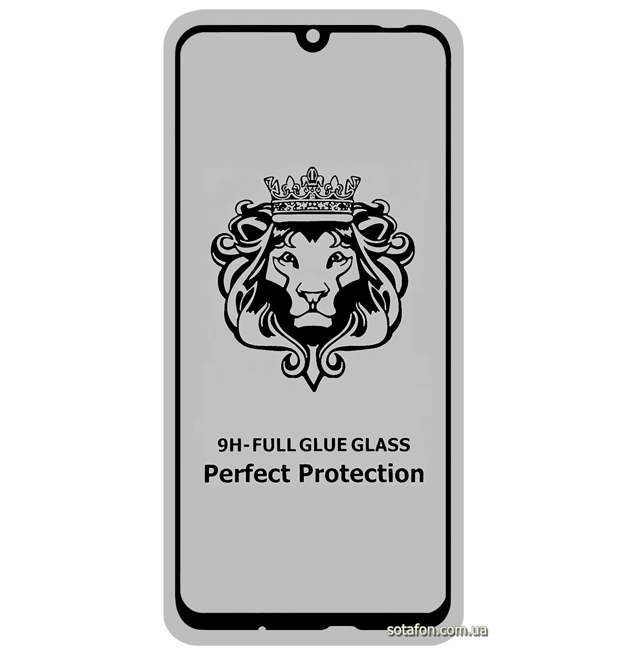 Защитное стекло 5D Full Glue для Huawei P Smart (2019) Black (Screen Protector 0,3 мм)