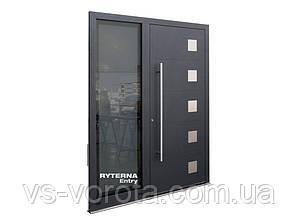 Входные уличные двери для дома Ryterna RD80 (Литва) - Дизайн 203