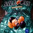 """Хромированный воздушный латексный шар зеленый 12"""" дюймов 28 - 30 см., фото 3"""