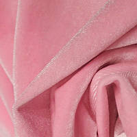 Бархат ткань (розовый)