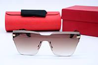 Солнцезащитные очки G7381 коричневые