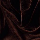 Оксамит тканина(Шоколад )