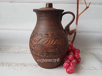Глиняный кувшин 3 литра