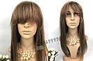 💎 Милированный натуральтный парик, простой с чёлкой 💎, фото 2