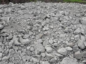 Вторичный щебень, дробленный бетон (дробленка) 5-100 мм, фото 2