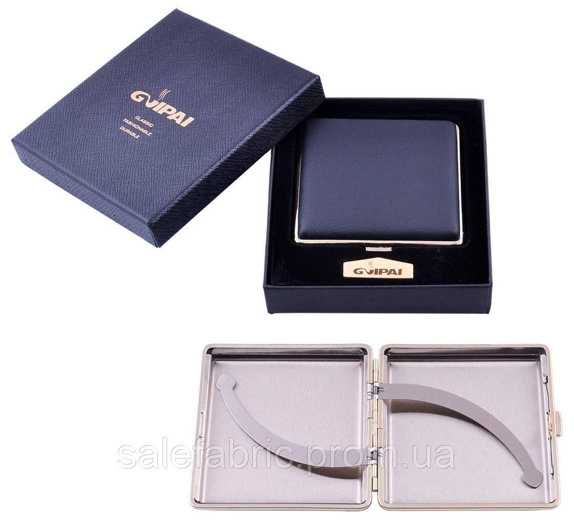 Портсигар в подарочной упаковке GVIPAI (Кожа, на 20 шт) №XT-4983-1
