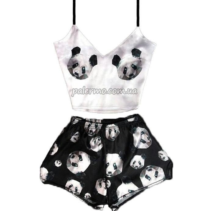 Пижама женская Panda 🐼 Панда шелковая