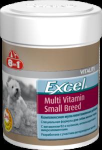 Эксель Мультивитамины для собак мелких пород 70 таб (8 в 1)