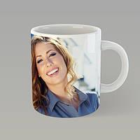 Чашка с фотографией на подарок