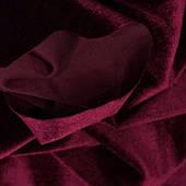 Оксамит тканина-Бордо