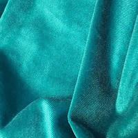 Оксамит тканина-Бірюза