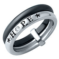 Серебряное кольцо 925 пробы с керамикой