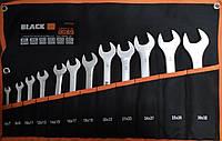 Набор ключей рожковых  Black ( Польша ) 6-32мм Cr-V 12 штук ( 16002 )