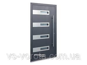 Входные уличные двери для дома Ryterna RD80 (Литва) - Дизайн 230