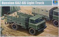 1:35 Сборная модель автомобиля ГАЗ-66, Trumpeter 01016