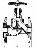 15кч19(34)п Фланцевий Ду32 Ру16, фото 5