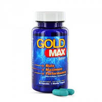 Капсулы для мужского здоровья Gold Max Daily Blue For Men 60 Capsules