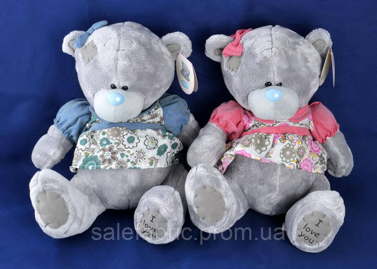Мягкая игрушка Мишка Тедди в платье (23 см) №1565-17