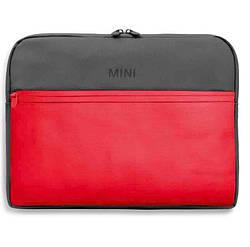 Сумка для ноутбука MINI Colour Block Laptop Sleeve, Coral / Grey, артикул 80212460859