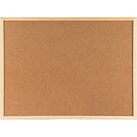 Доска корковая Axent 9603-A 90х120 см, деревянная рамка