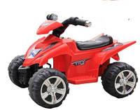 Эл-мобиль T-732 RED квадроцикл на р.у. 6V4.5AH 68*48*46 ш.к. /1/
