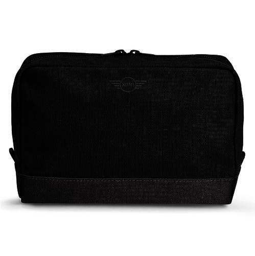 Велика косметичка MINI Pouch Big, Canvas Mix, Black / Grey, артикул 80212451018