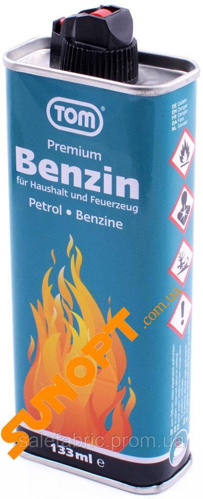 "Бензин для заправки зажигалок 133 мл ""Tom"" (Германия)"