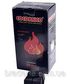 Уголь для кальяна кокосовый CocoBRiko 1кг