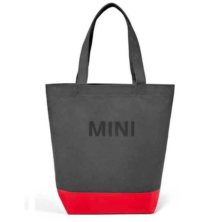 Господарська сумка-шоппер MINI Colour Block Shopper, Grey / Coral, артикул 80222460861