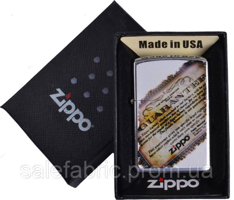 Зажигалка бензиновая Zippo в подарочной упаковке №4741-5