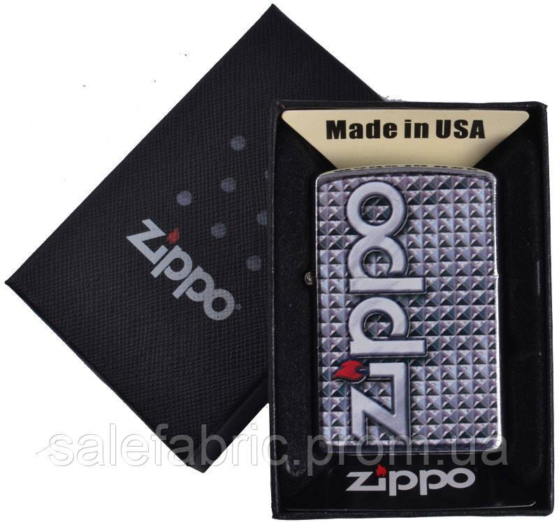 Зажигалка бензиновая Zippo в подарочной упаковке №4741-1
