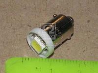 Лампа LED габарит подсветка панели приборов T8 03 1LED BA9S конус белый 12V TEMPEST 4905973820, фото 1