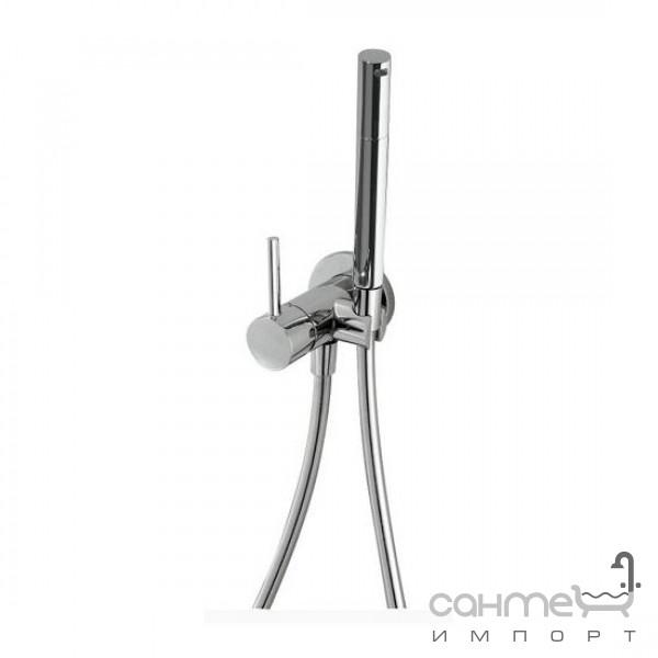 Смесители Tres  Гигиенический душ и рычаг для биде/туалета встраиваемый Tres Max-Tres 1.34.123 Хром