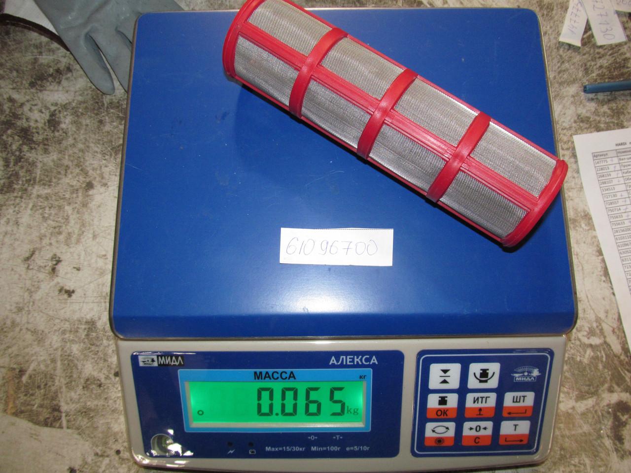 Фільтр сітчатий   S93   80 MESH-RED