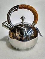 Чайник зі свистком Bohmann BH 8052 wood