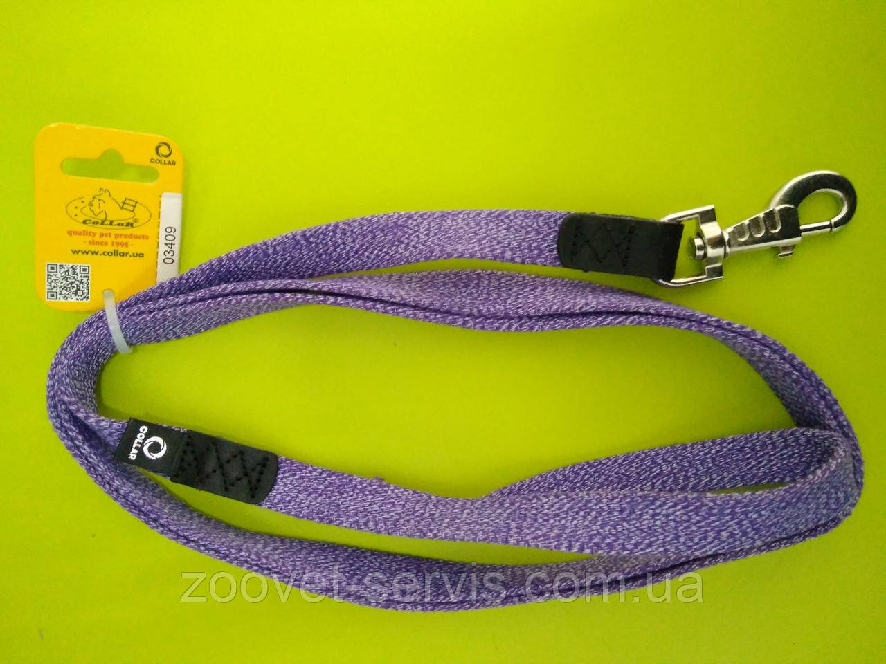 Поводок для собак Коллар  цветной брезентовый тесьма (ширина 20мм, длина 200см) 03409