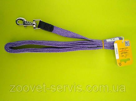 Поводок для собак Коллар  цветной брезентовый тесьма (ширина 20мм, длина 200см) 03409, фото 2