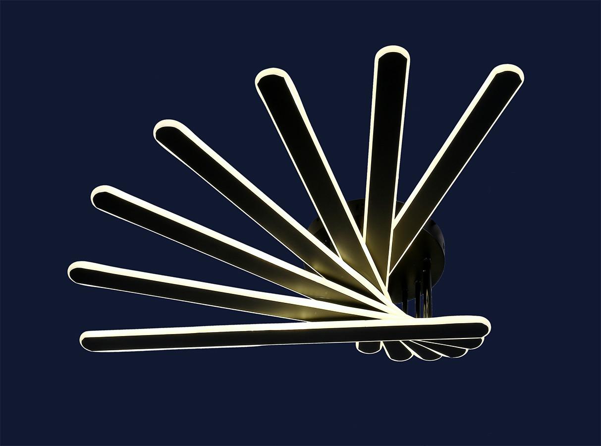 Світлодіодна люстра Levistella 801L7113+7 BK
