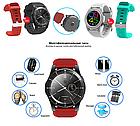Розумні смарт годинник Smart Watch DT No.1 G8 original чорні Годинникофон, фото 6