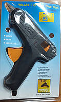 Пистолет для термо клея DSCN0106  (1.1см 40W)  без кнопки, ЧЕРНЫЙ