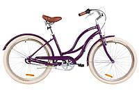"Велосипед Dorozhnik Cruise PH 26"" фиолетовый"