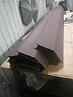 Колпак на забор коричневый мат., фото 6