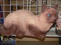 Садовая фигурка Кошка  Сиамская 20 см