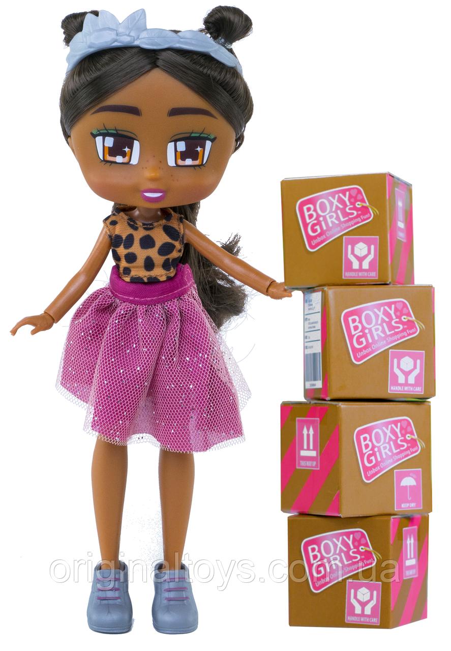 Кукла Boxy Girls Номи с аксессуарами, 20 см