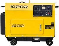 Дизель генератор 5 кВт  KIPOR KDE6500T в кожухе